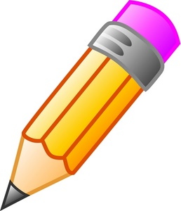 Pencil Clipart Image: Stubby .-Pencil Clipart Image: Stubby .-14