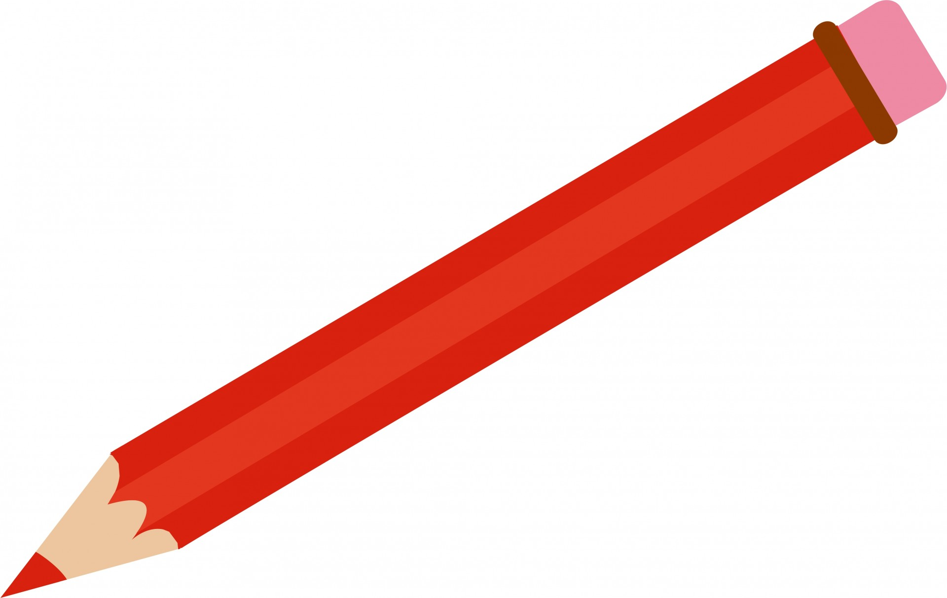 Red Pencil Clipart-Red Pencil Clipart-18