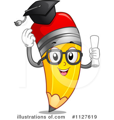 Royalty-Free (RF) Pencil Clipart Illustration by BNP Design Studio - Stock  Sample
