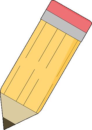 Sharp Pencil Clipart #1