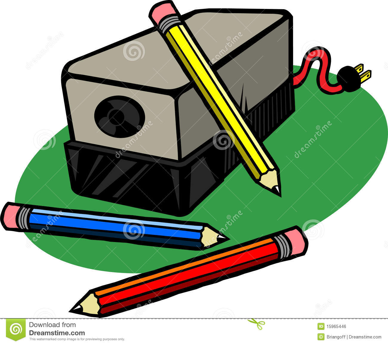 Pencil Sharpener Clip Art Electric Pencil Sharpener