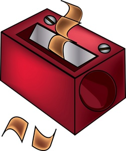 Pencil Sharpener Clipart Image Drawing Of A Hand Pencil Sharpener