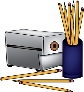 Pencil Sharpener Clipart Image Electric Office Pencil Sharpener With