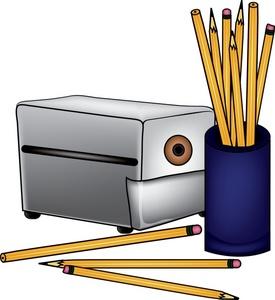 Pencil Sharpener Clipart Blac