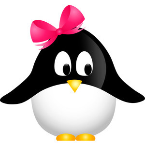 Penguin Clipart Image - Cute .-Penguin Clipart Image - Cute .-13