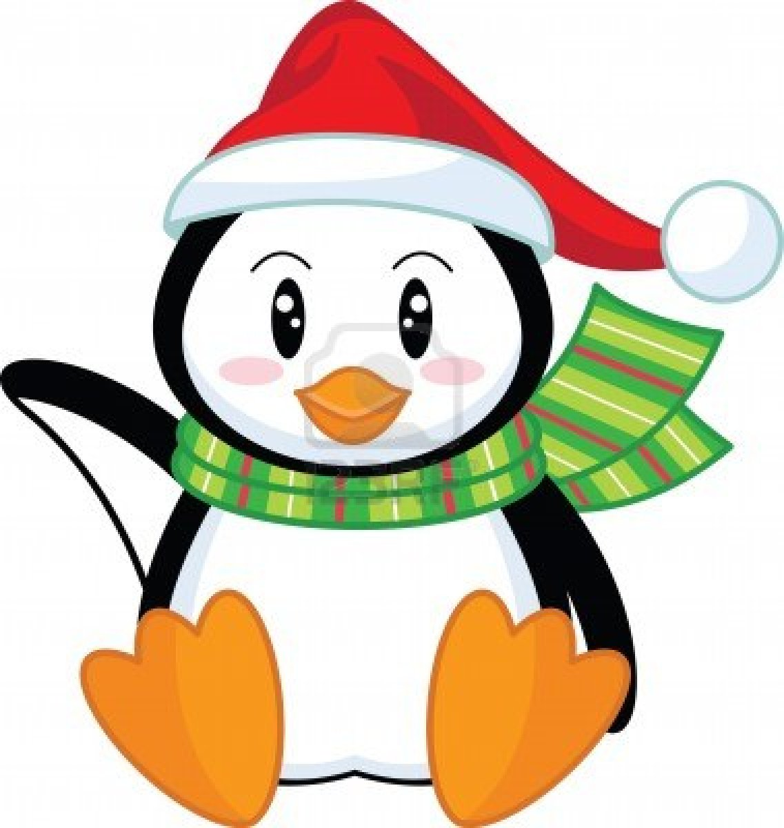 Penguin Holiday Clipart Holiday Penguin Clip Art