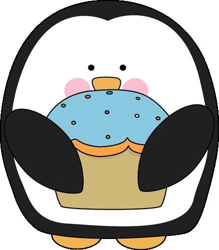 Penguin With A Cupcake-Penguin with a Cupcake-15