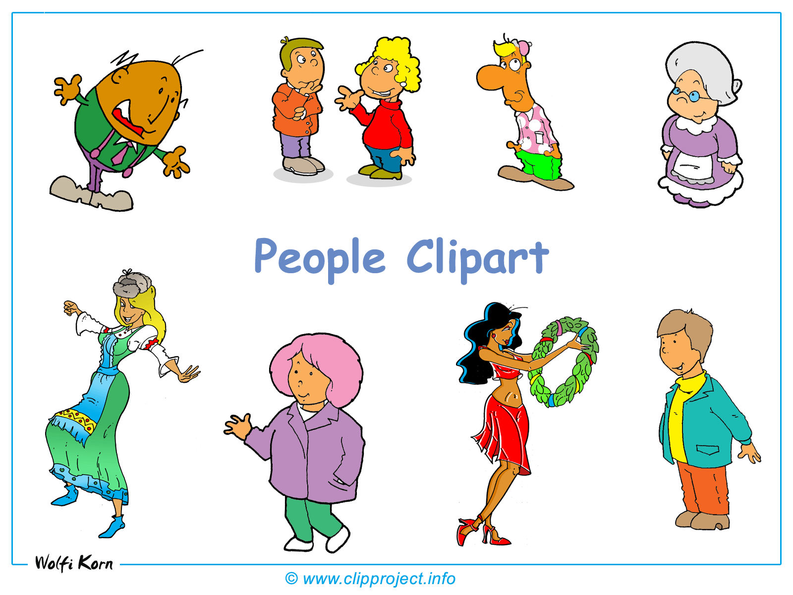 People Clipart Desktop .