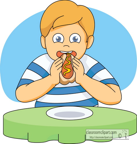 People Eating Clip Art From Hotdog Clipa-People Eating Clip Art From Hotdog Clipart-13