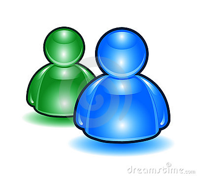 People Icons a la MSN.