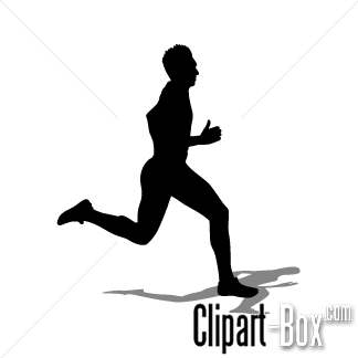 People Running Free Clipart #1