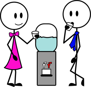 People Talking Clipart Image People Stan-People Talking Clipart Image People Standing Around A Watercooler-6