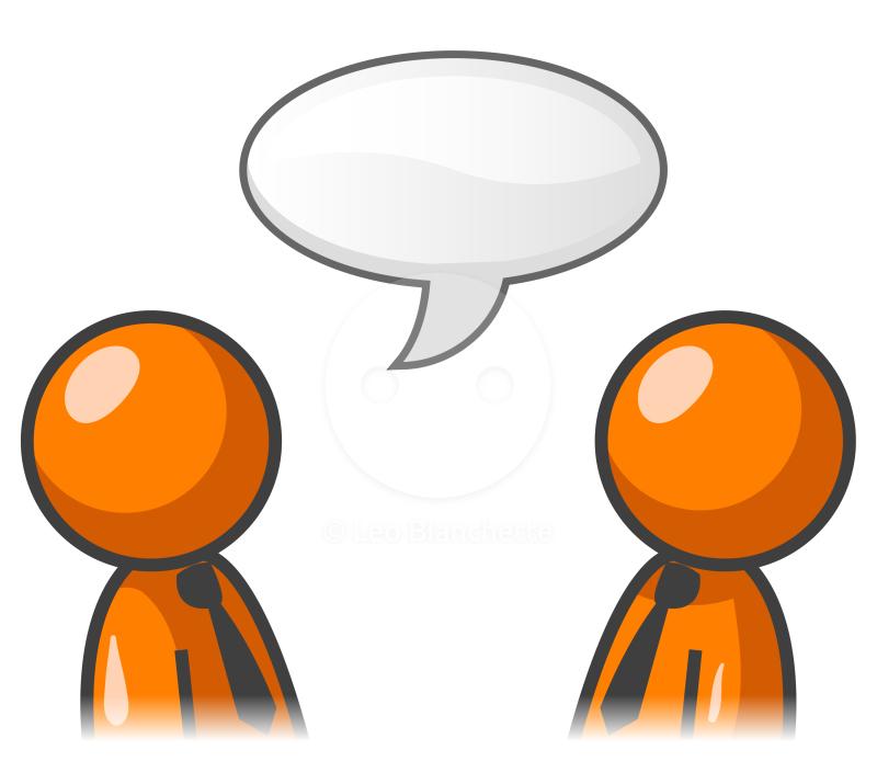 People Talking Clipart .-People Talking Clipart .-4