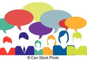 ... People Talking Vector Illustration.-... People talking vector illustration.-13