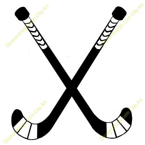 People Who Have Use This Clip Art 11736 Crossed Hockeysticks Has