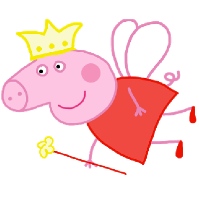 Peppa_Pig_Funny_Fairy_Party_C - Peppa Pig Clip Art