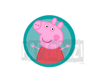 Peppa Pig Clipart - Cartoon C