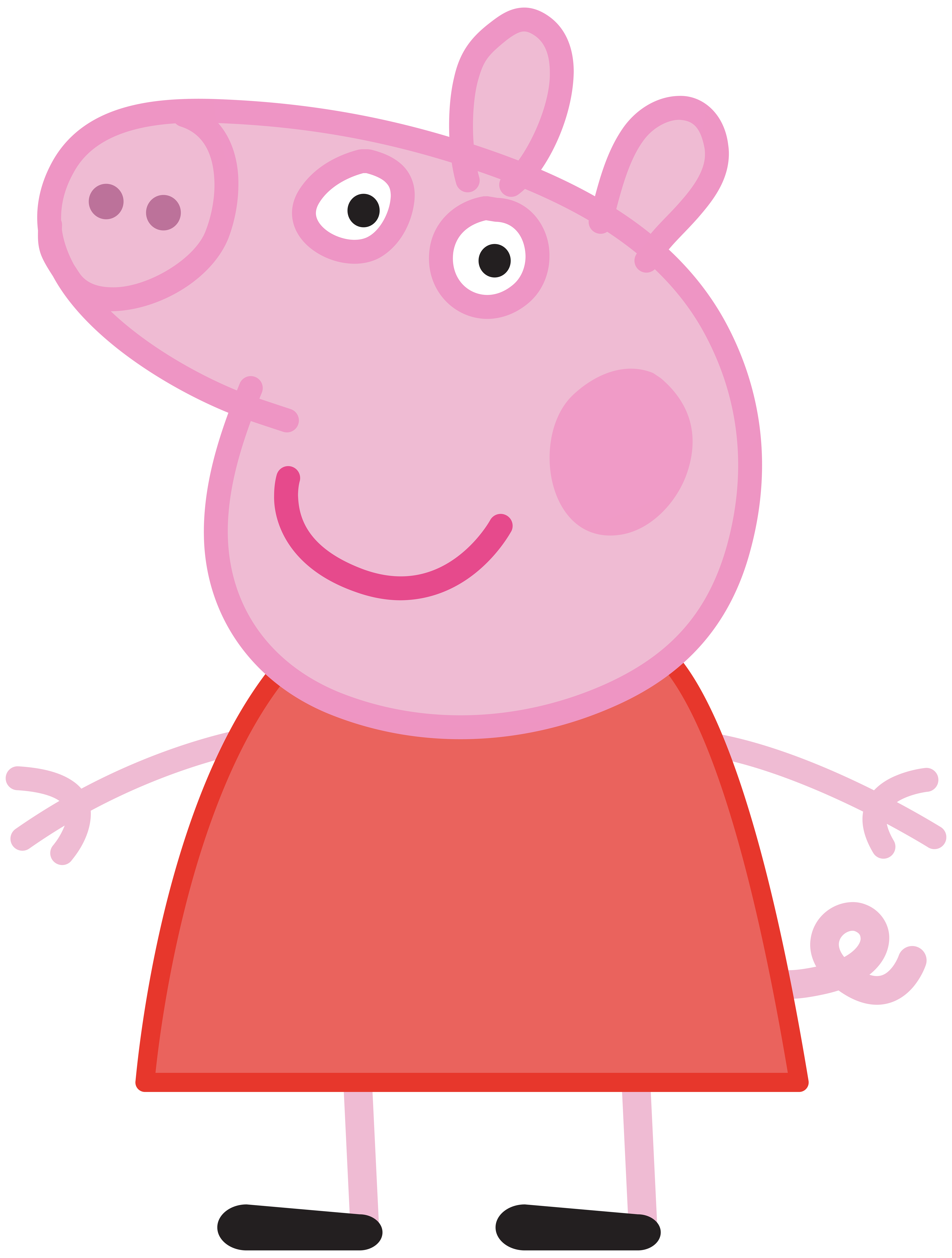 Peppa Pig Transparent PNG .-Peppa Pig Transparent PNG .-0