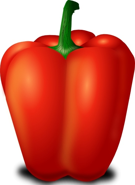 Red Pepper clip art