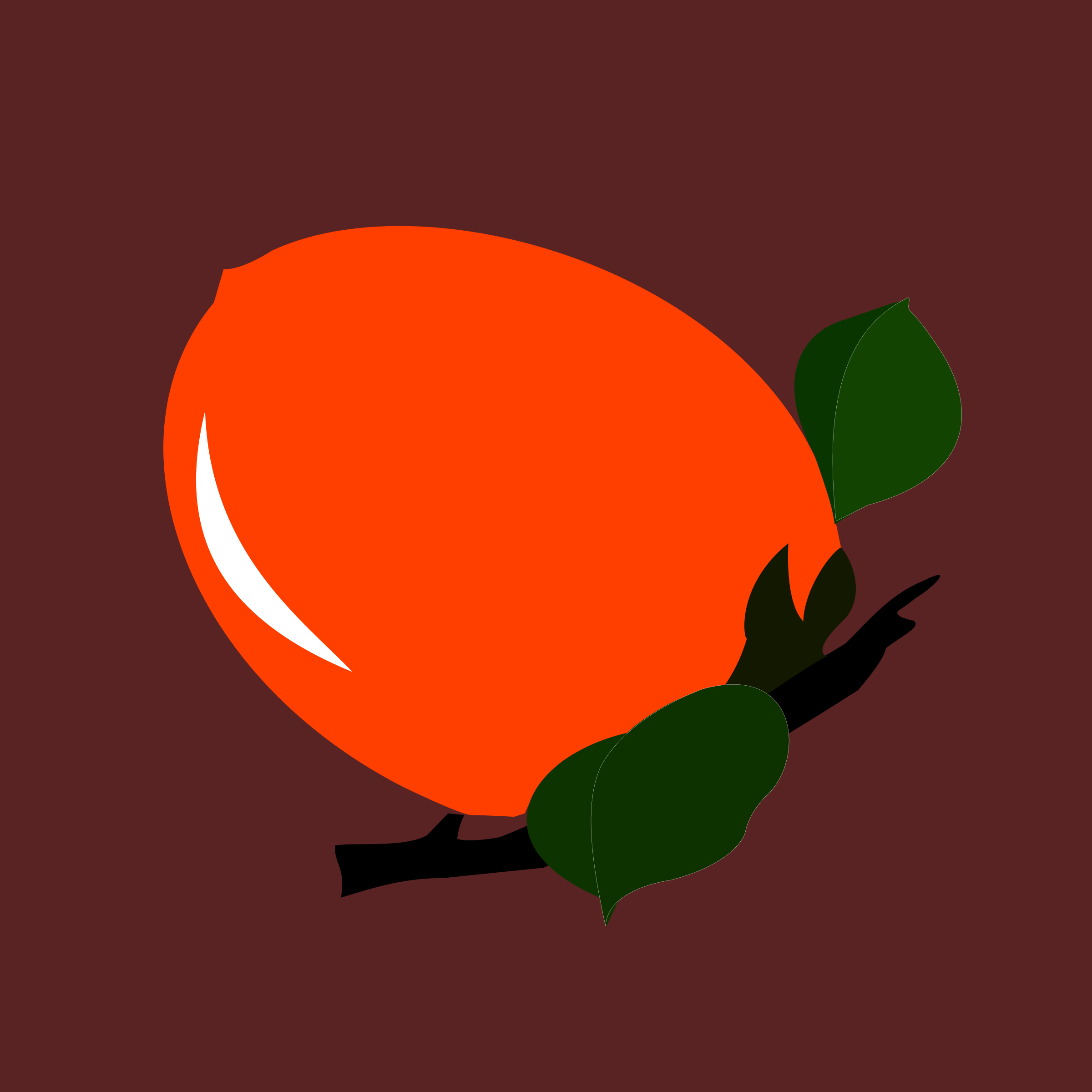 BIG IMAGE (PNG) - Persimmon Clipart