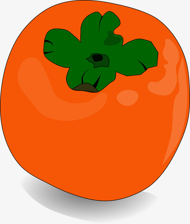 fresh persimmon, Good To Eat, Fruit, Persimmon PNG Image and Clipart