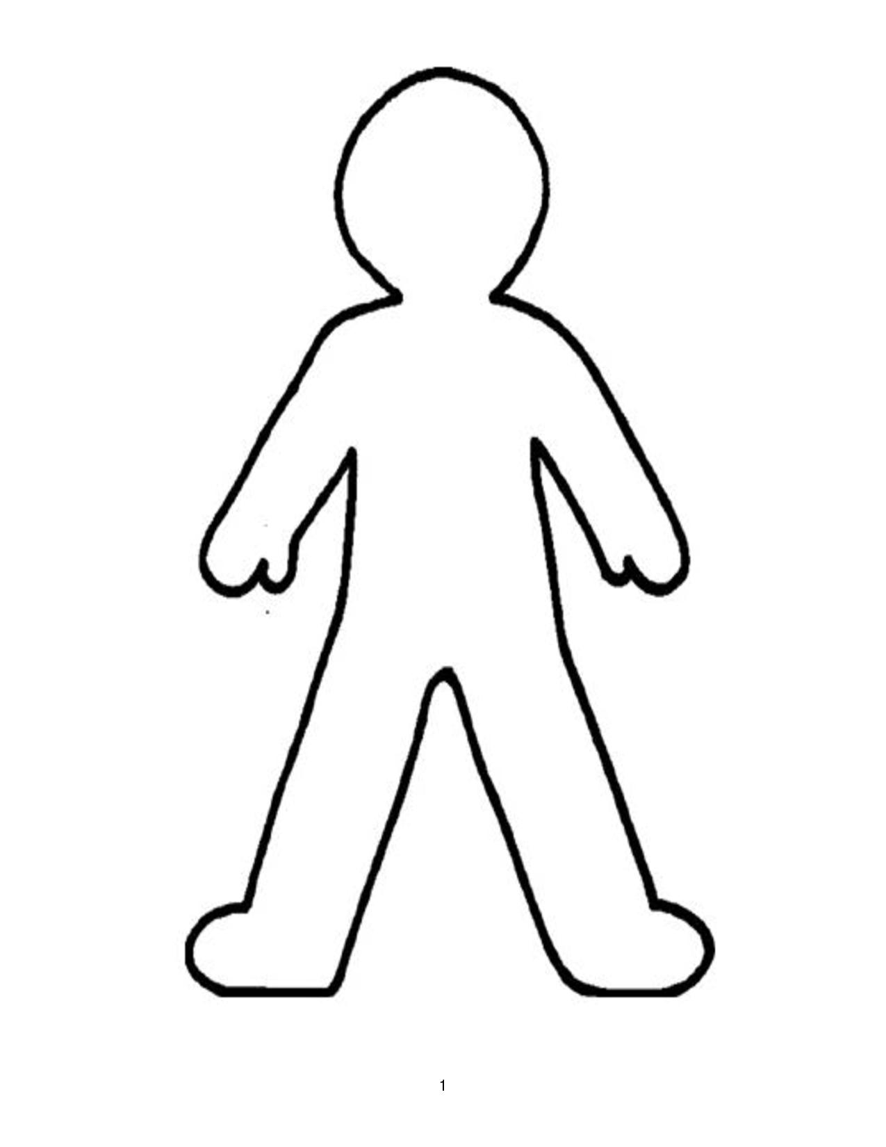 Person Clipart Outline-person clipart outline-7