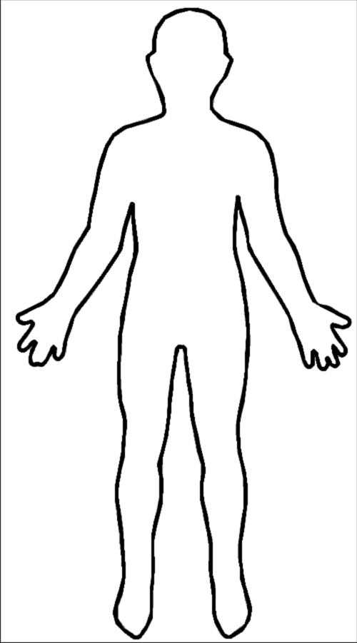 Person Clipart Outline-person clipart outline-9