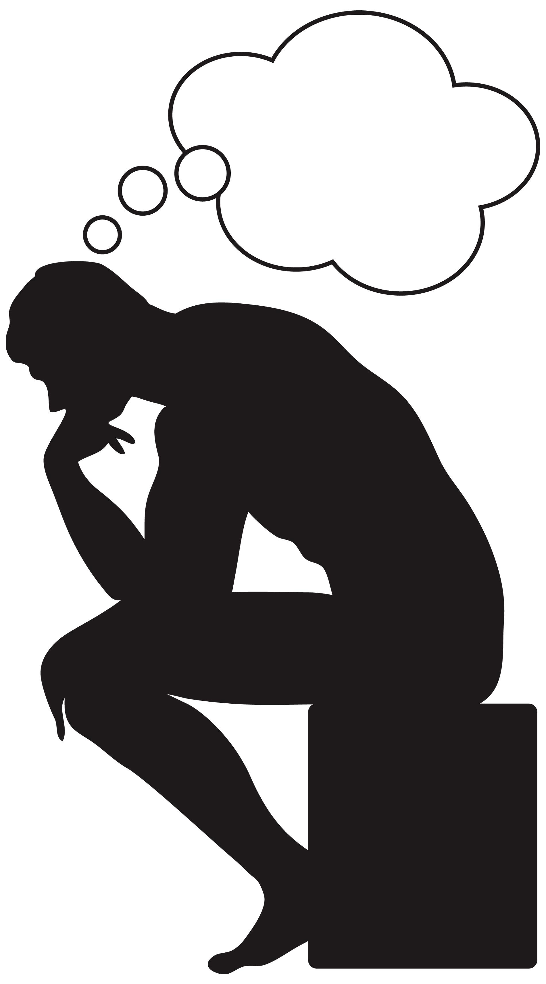 Thinking Man Clipart