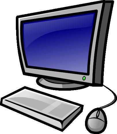 Personal Computer Clip Art .