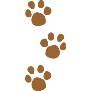 Pet Paw Prints Clip Art, .