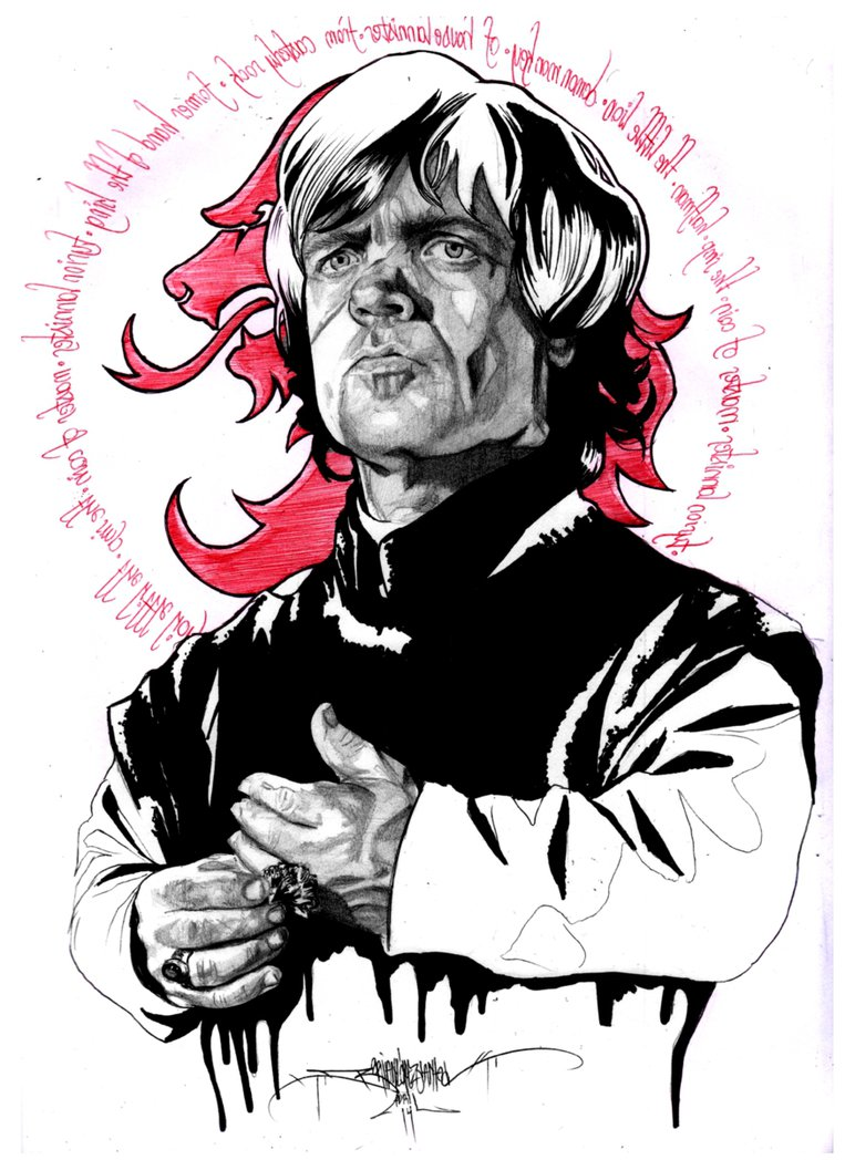 Peter Dinklage as Tyrion Lannister by b2rianLS ClipartLook.com