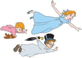 Peter Pan Wendy Clipart