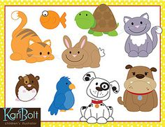 Pets, Animal Clip-Art