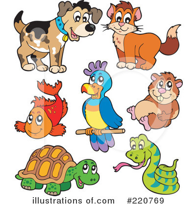 Pets Clipart 220769 Illustration By Visekart