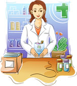 Pharmacist Clipart
