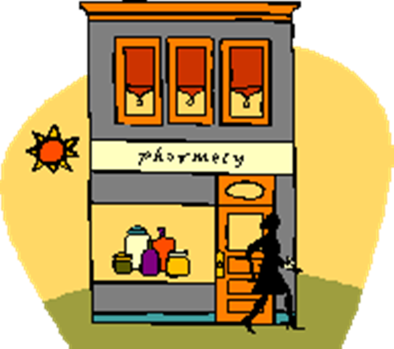 Pharmacy Building Clip Art ..