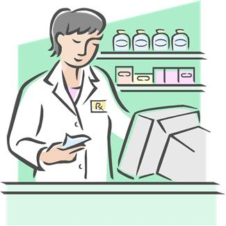Pharmacy Building Clipart. pharmacist.JPG
