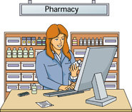 Pharmacy Building Clipart Prescription Pharmacy