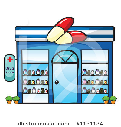 Pharmacy Clipart 1151134 Illustration By Colematt