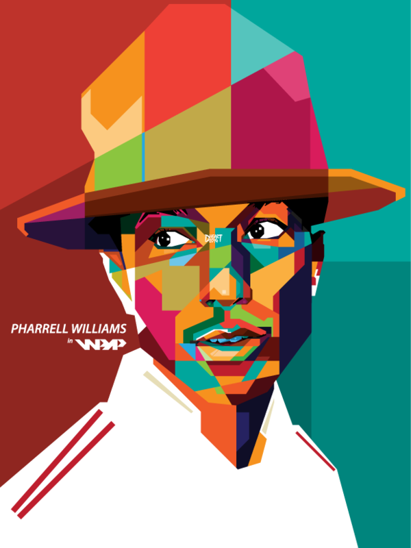 Pharrell Williams in WPAP