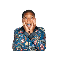 Pharrell Williams Transparent PNG Image