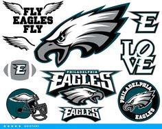 Eagles svg Philadelphia Eagles svg Fly Eagles clipart