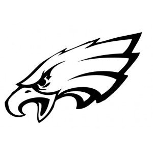 Interesting Philadelphia Eagles Vector L-Interesting Philadelphia Eagles Vector Logo Decal SVG S Silhouettes  Coloring Pages-9