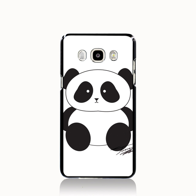 05386 cute panda clipart free clip art images cell phone case cover for  Samsung Galaxy J1