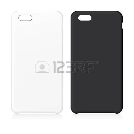 Blank phone case. Vector illustration. V-Blank phone case. Vector illustration. Vector Illustration-5