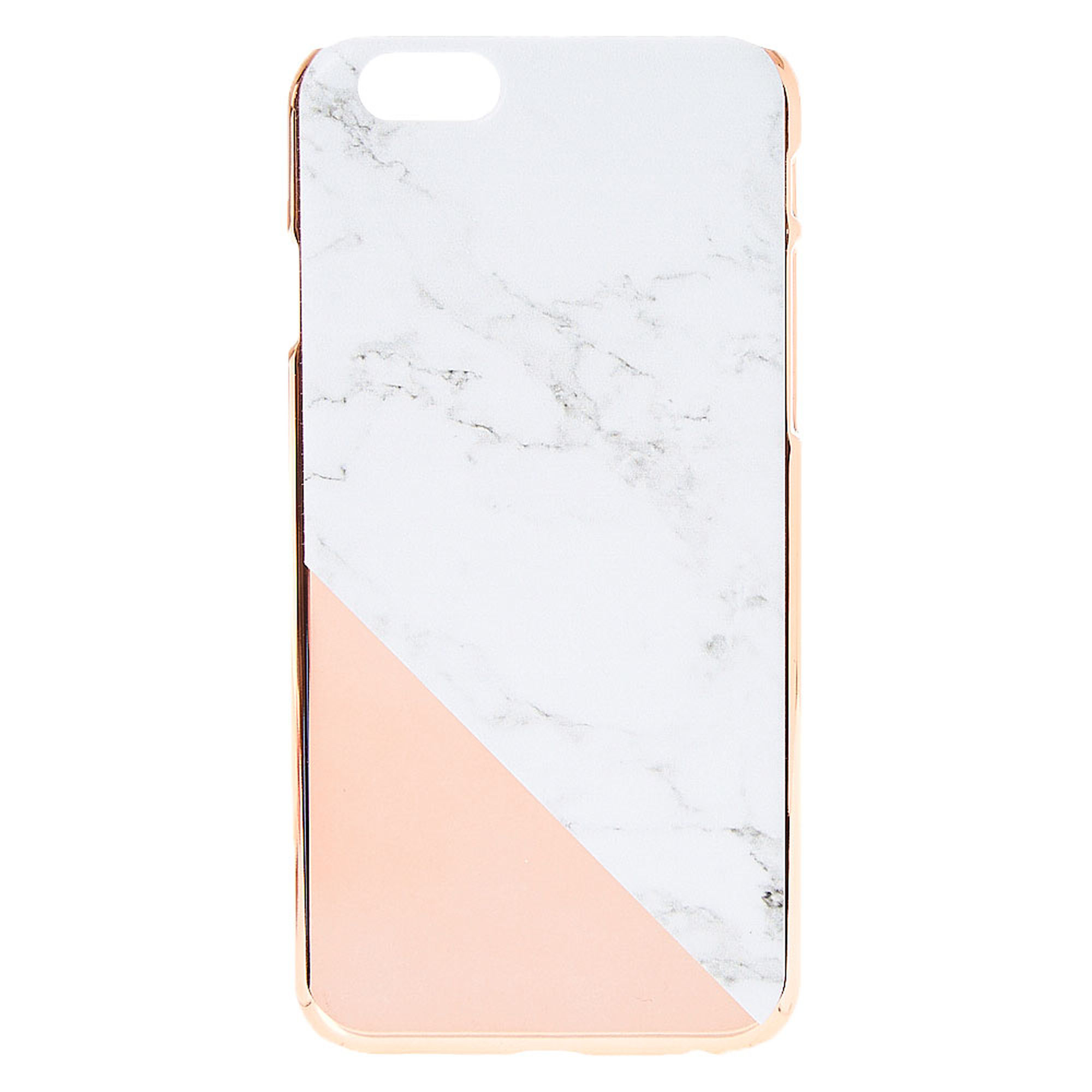 Rose Gold Marble Print Phone Case-Rose Gold Marble Print Phone Case-4
