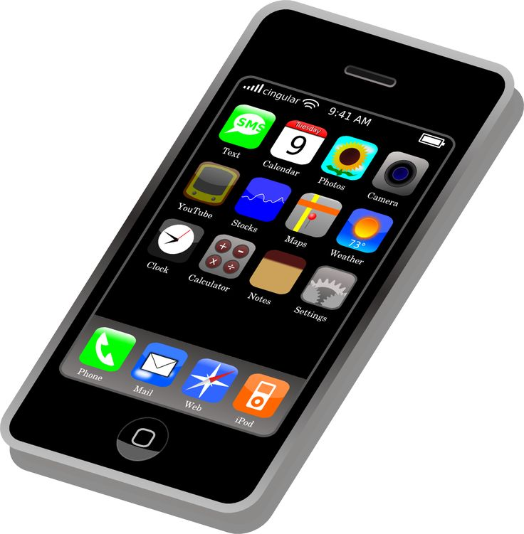 Phone clip, Clip art free and .