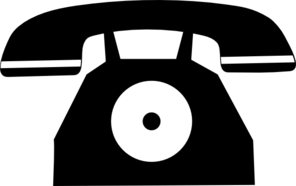 Analog Phone Clip Art