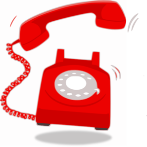 Phone ringing free clipart images