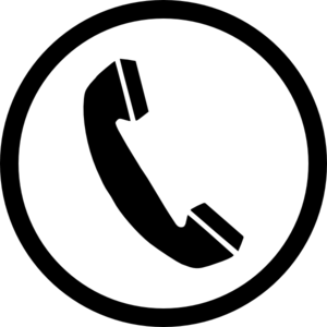 Phone Sign Clip Art